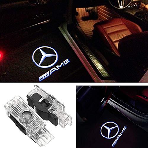 E Coupé 2 Mercedes Benz CLA CLS Porte Logo Projecteur Lampe LED Éclairage //CLK