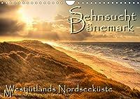Sehnsucht Daenemark - Danmark (Wandkalender 2022 DIN A4 quer): Holmsland Klit und Westjuetlands Nordseekueste (Monatskalender, 14 Seiten )