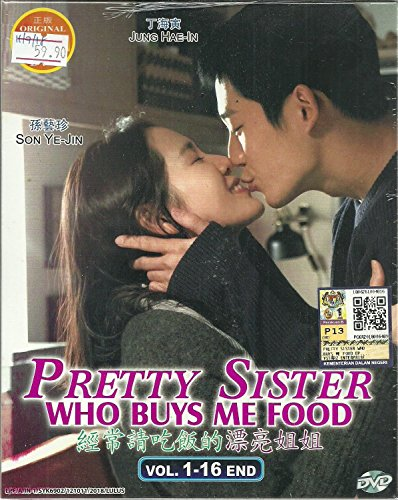 PRETTY SISTER WHO BUYS ME FOOD - COMPLETE KOREAN TV SERIES ( 1-16 EPISODES ) DVD BOX SETS