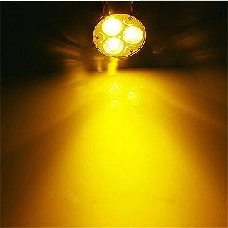 Bombillas Led Casquillo Fino 3Pcs Lámpara De Bombilla Led Mr16 Súper Brillante Gu5.3 Luz 15W 12W 9W Dc12V 220V Regulable/Rojo/Verde/Azul Foco Downlight-Blanco Cálido_15W Gu5 3 220V_No
