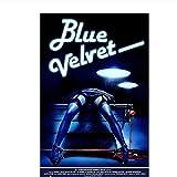 YXFAN Blue Velvet Movie Poster 1986 ÖlgemäldePoster