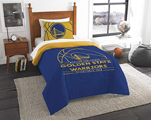 NBA Golden State Warriors 'Reverse Slam' Twin Comforter and Sham Set