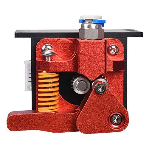 BZ 3D Dual Gear Extruder Kit di upgrade per estrusore in alluminio a doppia trazione CR-10S Pro, funziona con Ender 3 CR10 CR-10 Pro CR-10 Pro CR-10S, Avanzamento motore per stampante 3D