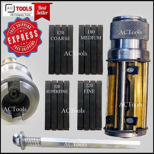 Rodoir cylindre honoir rectifieuse de cylindre 50mm - 75mm + 16 pierres 4' x 3/8' x 3/8' + ** LIVRAISON EXPRESS GRATUITE **