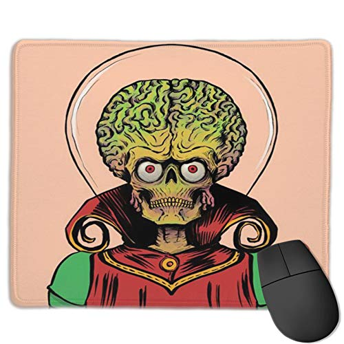 Mars Attacks Mouse Pad Non Slip Rubber Stitched Edges Large Gaming Keyboard Mat Mouse Pad 2530
