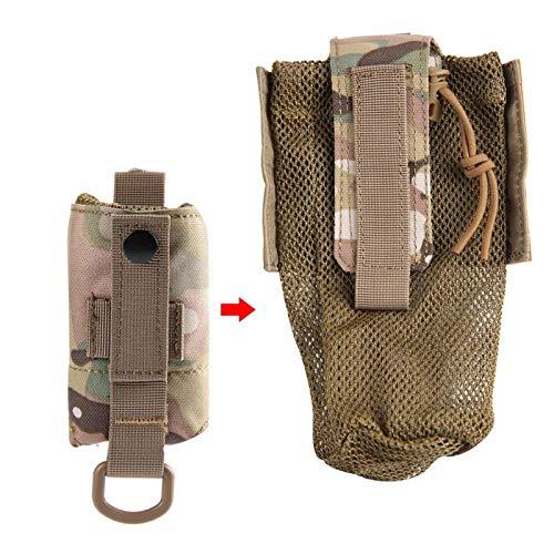 SALUTUYA Bottle Carrying Bag Nylon Kettle Bag Wear Resistant Ventilated,for Camping