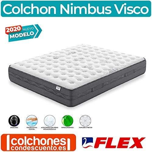 Colchón Nimbus Visco de Flex - 150x190, Firmeza Media