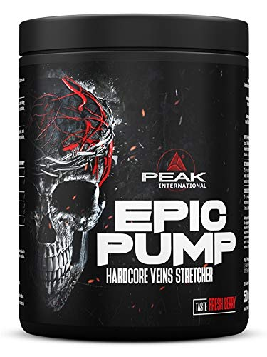 PEAK Epic Pump Blood Orange 500g Pre Workout Booster