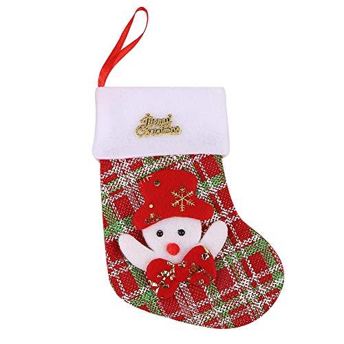 XdiseD9Xsmao leuke karikatuur-kerstman sneeuwman roodwild-beer decoratie-hangende versiering kerstboom panty tas Sneeuwpop *
