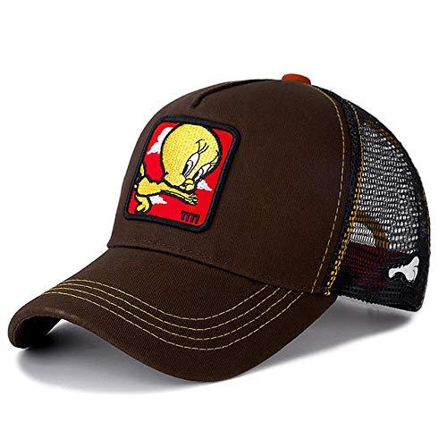 N-N Cap Snapback Cap Baumwolle Baseball Cap Männer Frauen Hip Hop Papa Mesh Hut Trucker, Titi