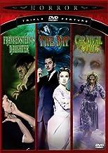 Frankenstein`s Daughter/The Bat/Carnival of Souls