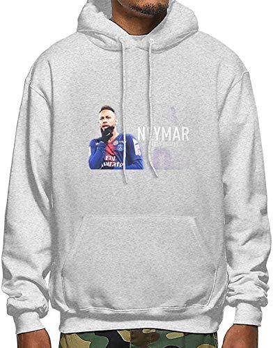 Neymar Jr Outstanding Skills Goals I Men's Polyester Hoodie Pocket Sweater Jackets XXL