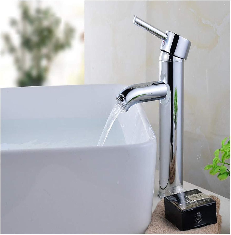 Farbe Einlocharmatur, Waschtischarmatur für heie und kalte Tischarmatur, Waschtischarmatur, Waschtischarmatur, Waschtischarmatur, Waschtischarmatur, Material, Silber2, Gre