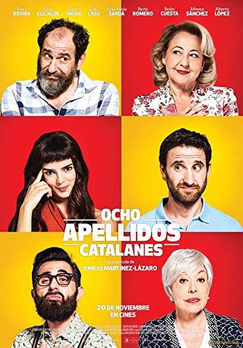 Zole Xap Ocho apellidos catalanes Movie   24inch x 34inch   Silk Printing Poster 000