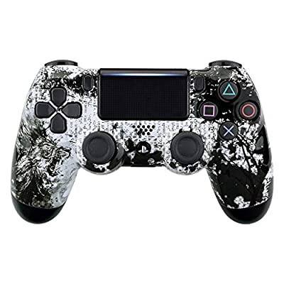 Lion PS4 PRO Rapid Fire Custom Modded Controller 40 Mods for All Major Shooter Games & More (CUH-ZCT2U)