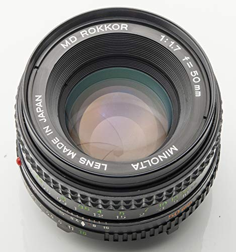 Minolta MD Rokkor 50 mm 50mm 1.7 1:1.7 - XD-7 XD X700