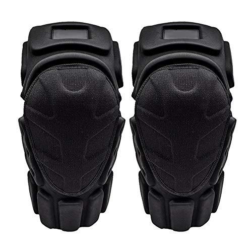 Kniebeschermers Kneepad voor motorrijden anti-val beschermende Gear mountainbike outdoor sport volwassen elleboog pads dans kniebeschermers Eén maat Zwart