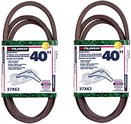 Murray 40 Lawn Wholesale Mower Blade Belt Pack of 2 '90-'97 sold out 37X62MA