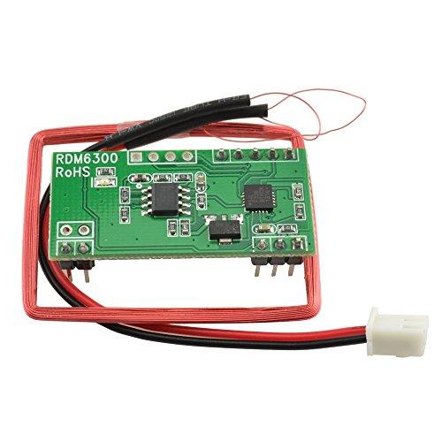 HiLetgo RDM630 125 KHZ EM4100 RFID Card Read Module UART Serial Output for Arduino