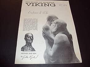 The Sons Of Norway Viking July 1969 Gustav Vigeland No. 7 Vol. 66