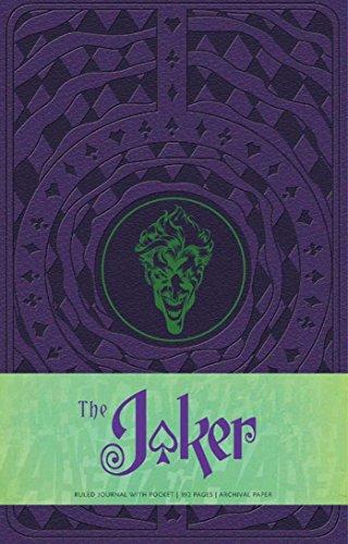 Joker Hardcover Ruled Journal (Comics)