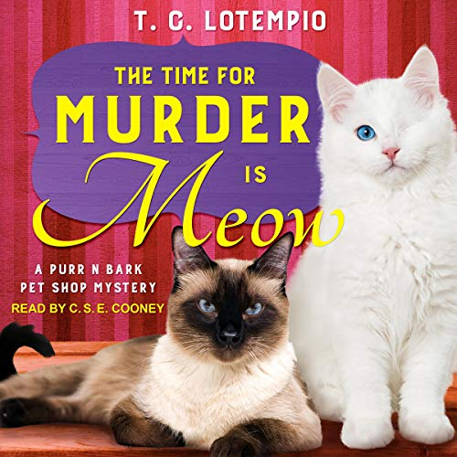 The Time for Murder Is Meow audiobook cover art