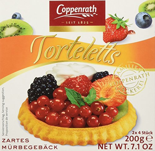 Coppenrath zarte Mürbetorteletts, 10er Pack (10 x 200 g)