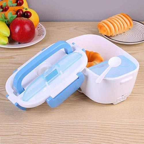 Leixin Koeltassen, 12 V, auto, draagbaar, lunchbox, lunchbox, lunchbox, multifunctioneel, levensmiddelenkwaliteit, blauw (kleur: blauw)