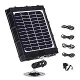 WILDGAMEPLUS Panel solar recargable, 14W 8000mAh 12V/1.2A 9V/1.6A 6V/2.4A...