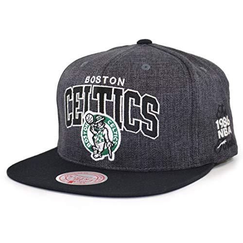 Mitchell & Ness NBA G2 Winners Boston Celtics - Gorra, color negro y gris