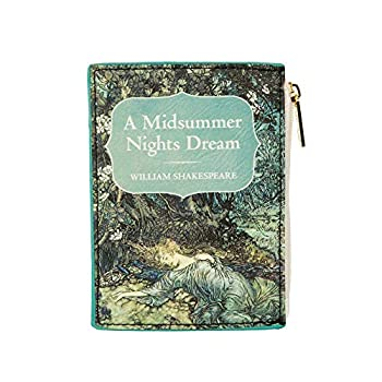 Midsummer Night s Dream Coin Purse for Literary Lovers – Card Wallet for Women by Well Read - Book Readers Coin Pouch