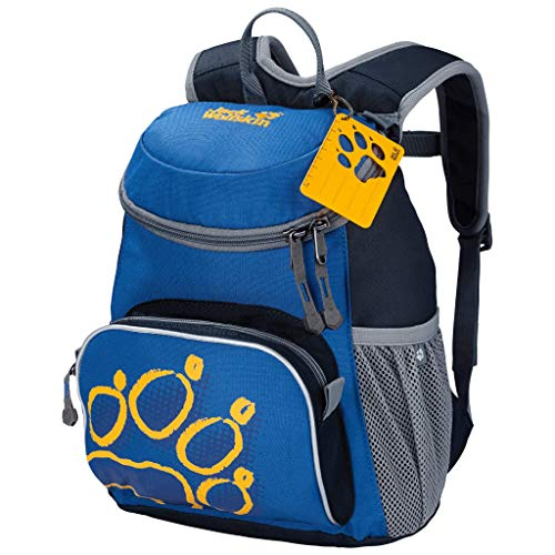 Jack Wolfskin Unisex Kinder Rucksack Little Joe bequemer Kinderrucksack, Night Blue, 32 x 29 x 2 cm, 11 Liter