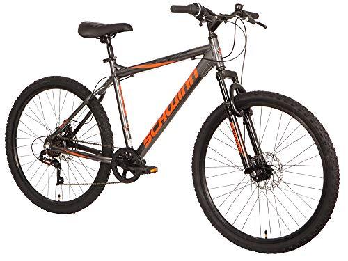 Schwinn Unisex-Youth Surge Fahrrad, Graphite/Orange/Black, 17