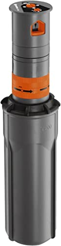 GARDENA Système d'arrosage Turbine Pop-up Sprinkler T200 : Système d'arrosage pour les pelouses de taille moyenne jus...
