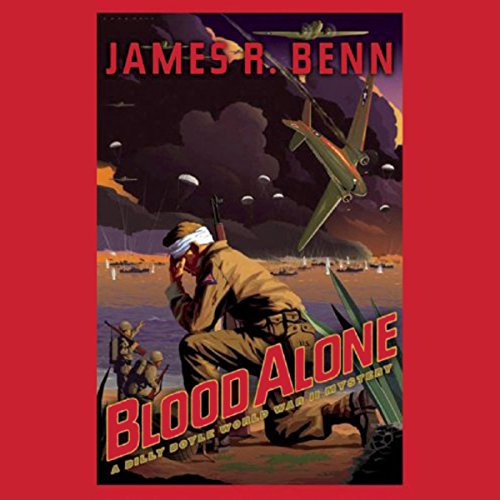Blood Alone audiobook cover art