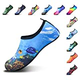 DL Water Shoes for Women and Men Barefoot Quick-Dry Aqua Socks...