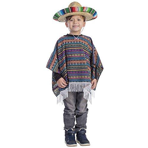 Dress Up America Costume Poncho mexicain pour enfant