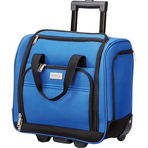 Geoffrey Beene Luggage 16' Underseater Carry-On (Royal)