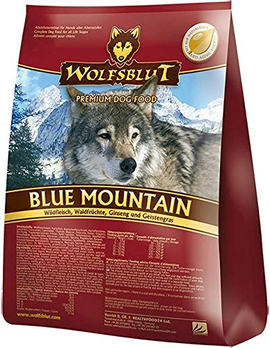 Wolfsblut | Blue Mountain | 15 kg | Wildfleisch | Trockenfutter | Hundefutter | Getreidefrei