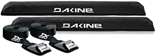 DaKine Long Aero Rack Pads with 12' Baja Tie Down Straps - Black