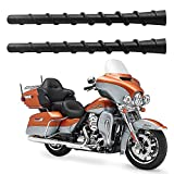 2 Pack 7 inch Spiral Antenna for 1989-2021 Harley Davidson Touring Electra Road Street Glide Trike Ultra Classic CVO