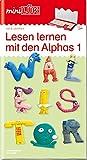 miniLÜK-Übungshefte / Vorschule: miniLÜK: Vorschule/1. Klasse - Deutsch: Lesen lernen mit den Alphas 1
