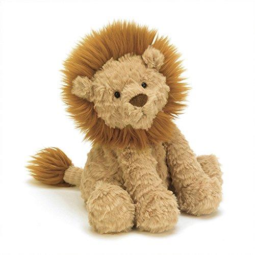 JELLYCAT - Lion Fuddlewuddle - Marrón oscuro, 23 cm