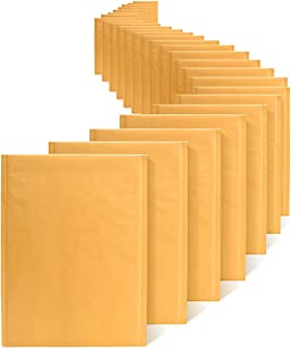 Fuxury Fu Global Kraft Bubble Mailers #5 Bubble Envelopes 10.5x16 Inch Padded Envelopes 25pcs