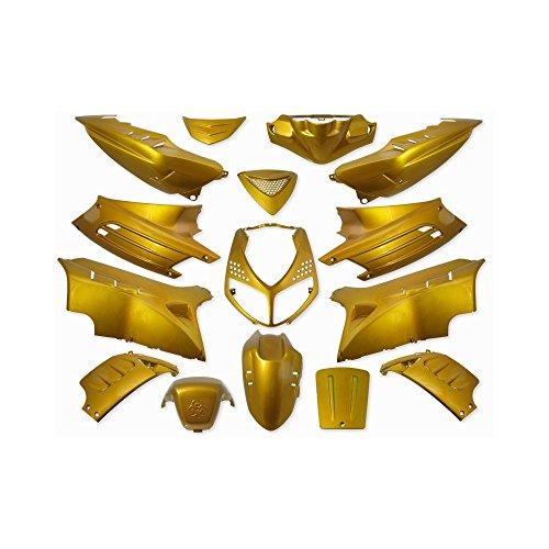 Verkleidung 15 Teilig StylePro für Peugeot Speedfight 2 Gold