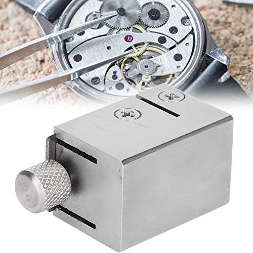 Herramienta de reparación de relojes, 3007 Pinza de reloj Cierre de apriete Escariado de acero Accesorio de reparación de relojes Reparadores profesionales Herramienta de reparación de relojero