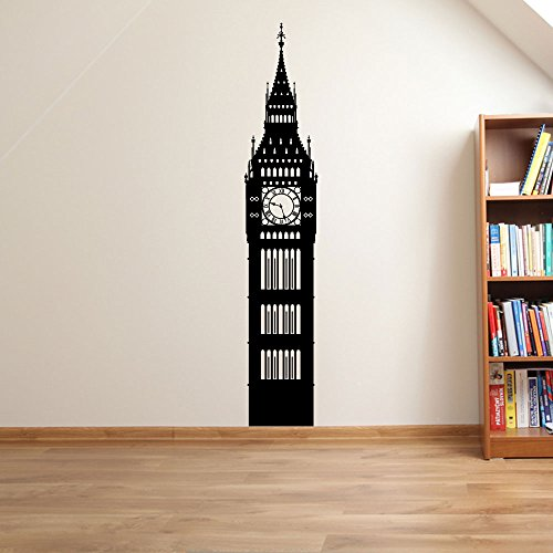 Clock Big Ben London Wall Decorations Window Stickers...