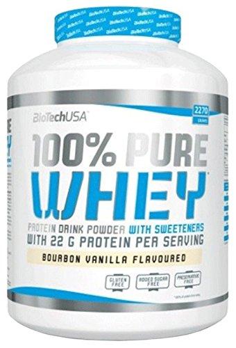Biotech USA 100% PURE WHEY - fresa - 2,270gr