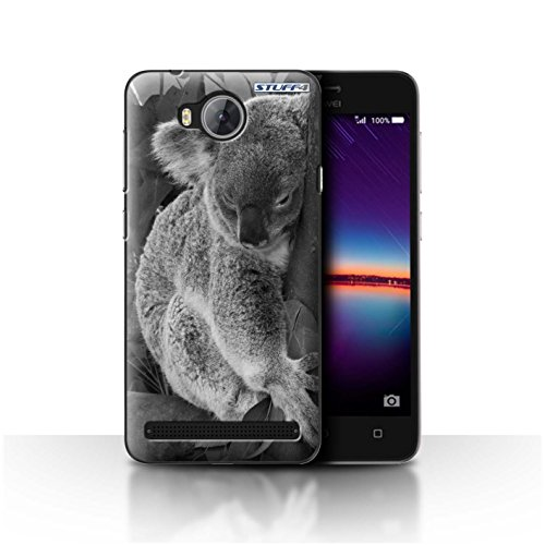 Hülle Für Huawei Y3II/Y3 2 Zoo-Tiere Koala Design Transparent Ultra Dünn Klar Hart Schutz Handyhülle Hülle