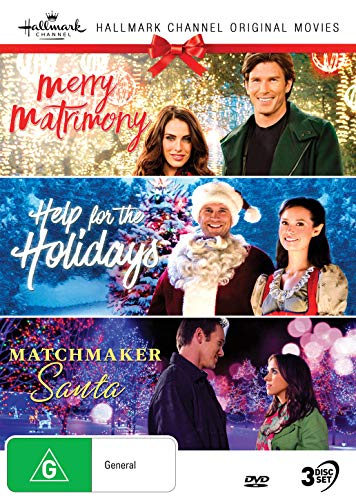 Hallmark Christmas 3 Film Collection (Merry Matrimony/Help for the Holidays/Matchmaker Santa)